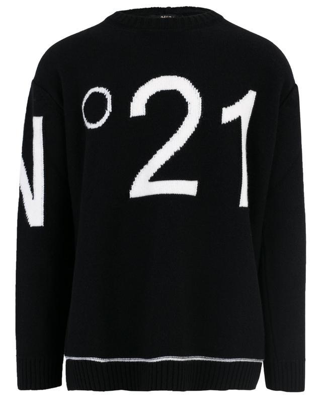 Pullover aus Schurwolle N°21