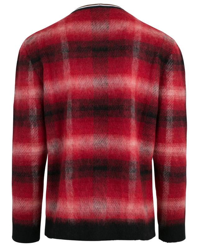 Pullover aus Woll- und Mohairmix N°21