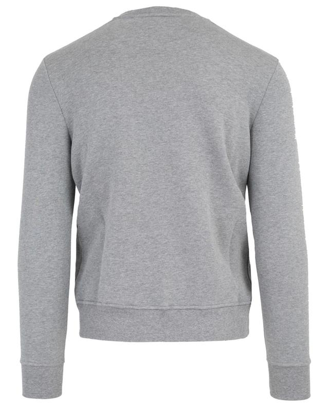 Sweat-shirt en coton brodé Irreverent N°21