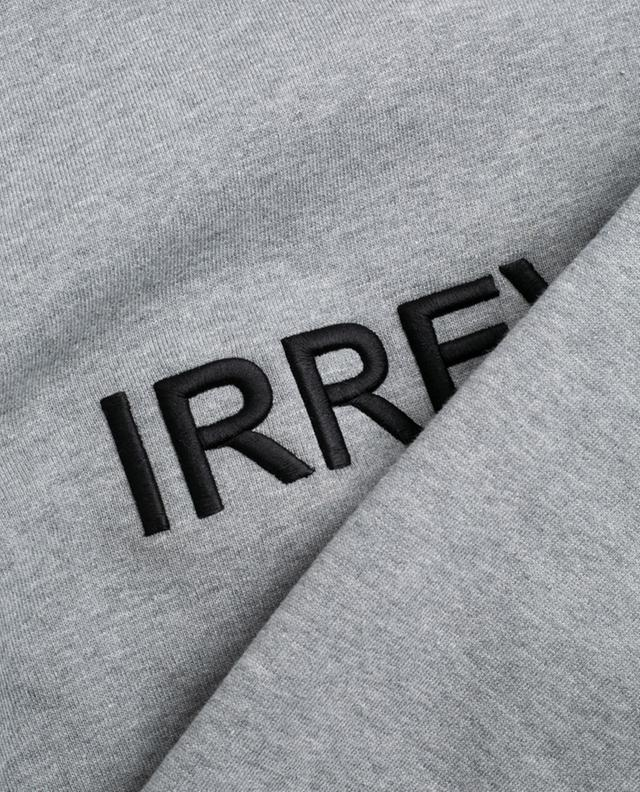 Irreverent embroidered cotton sweatshirt N°21