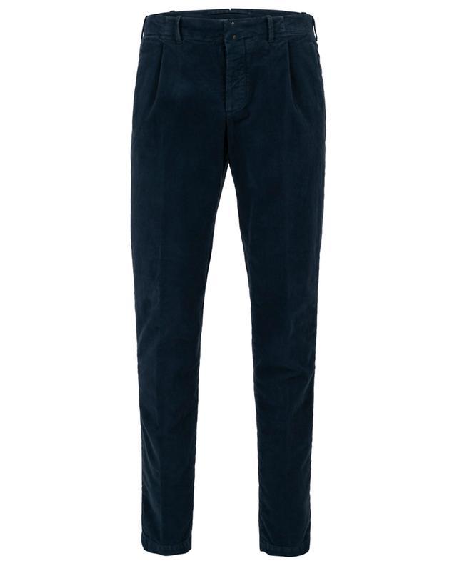 Verve cotton slim fit trousers INCOTEX