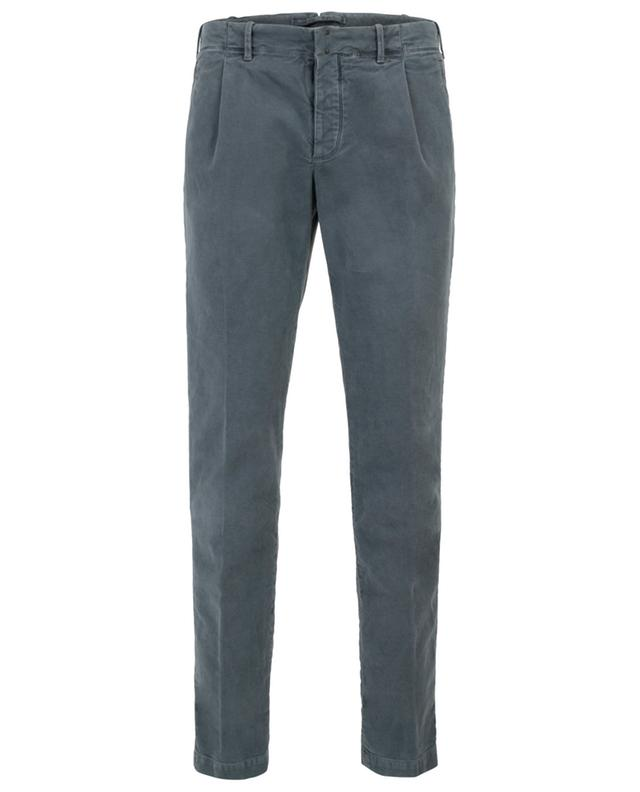 Verve cotton slim fit trousers INCOTEX
