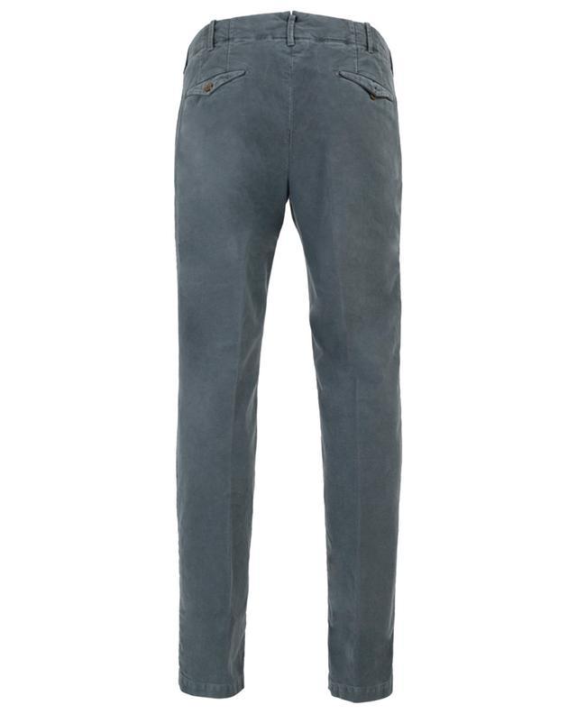 Pantalon slim en coton Verve INCOTEX