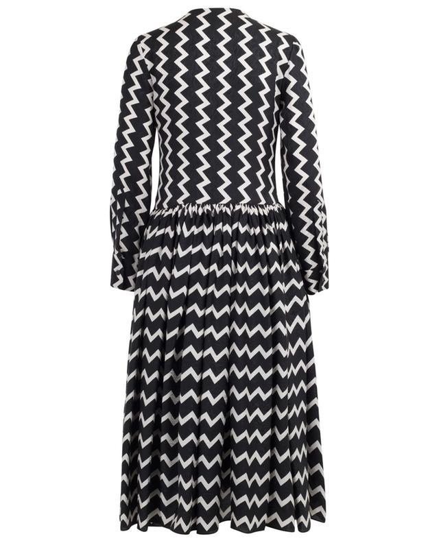 Mittellanges Kleid aus Seide mit Print Sage STELLA MCCARTNEY