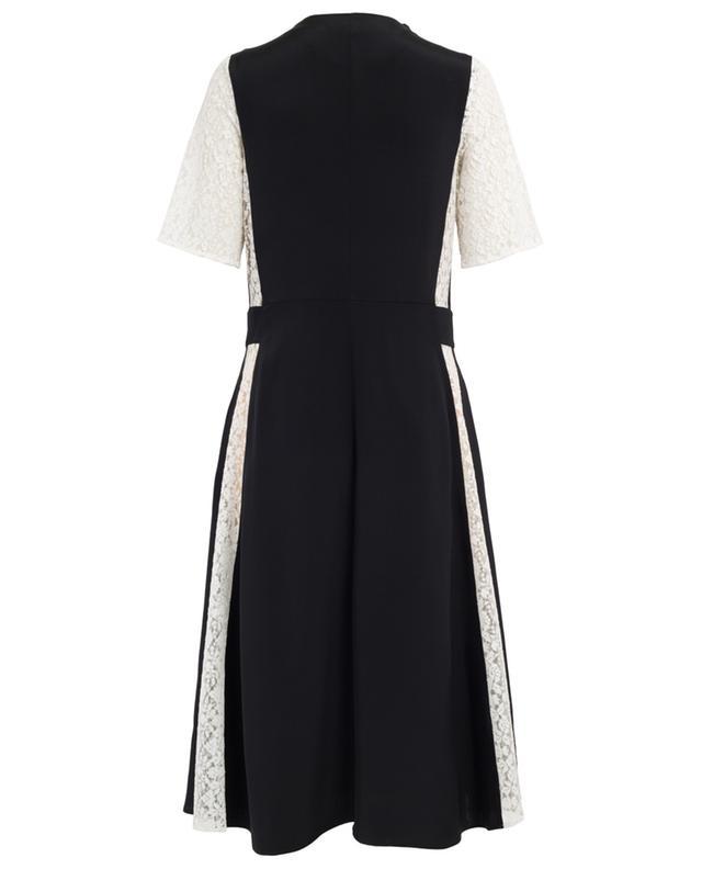 Midi-length silk and lace dress STELLA MCCARTNEY