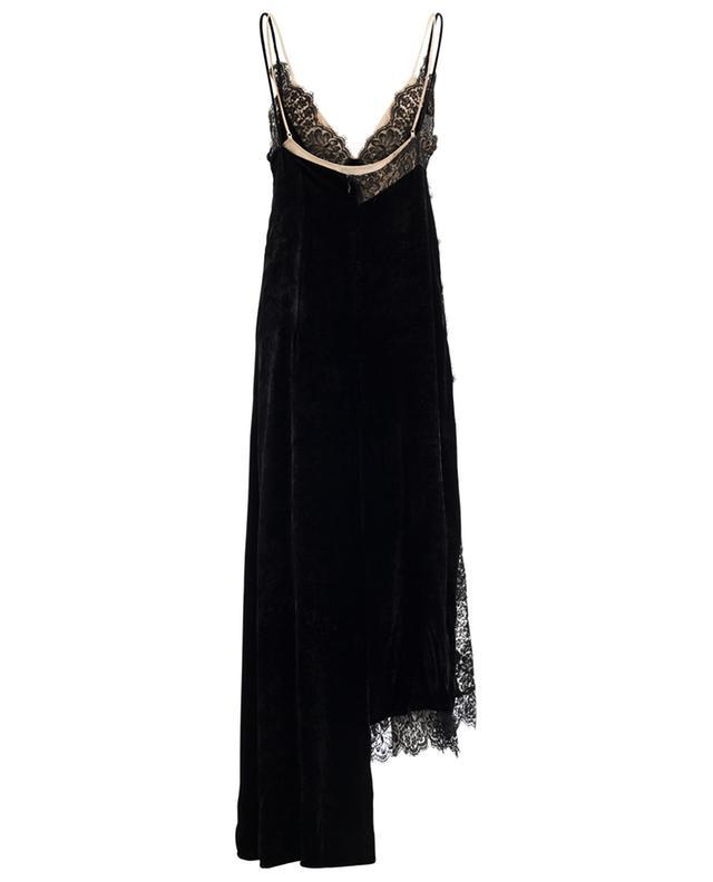 Long velvet, silk and lace dress STELLA MCCARTNEY