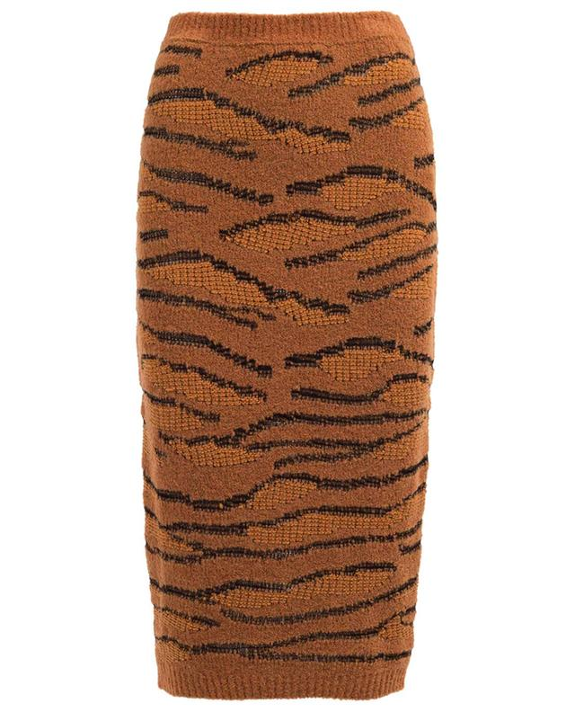 Wool and cotton blend pencil skirt STELLA MCCARTNEY