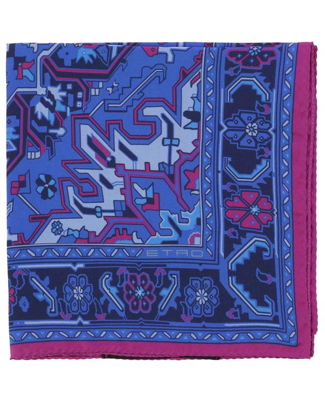Bangalore silk pocket square ETRO