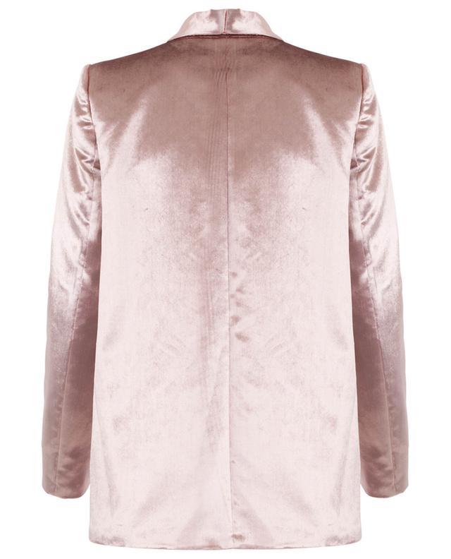 Velvet and silk blazer SLY 010
