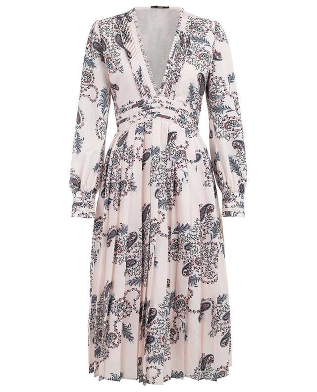 Midi-langes Kleid mit Print SLY 010