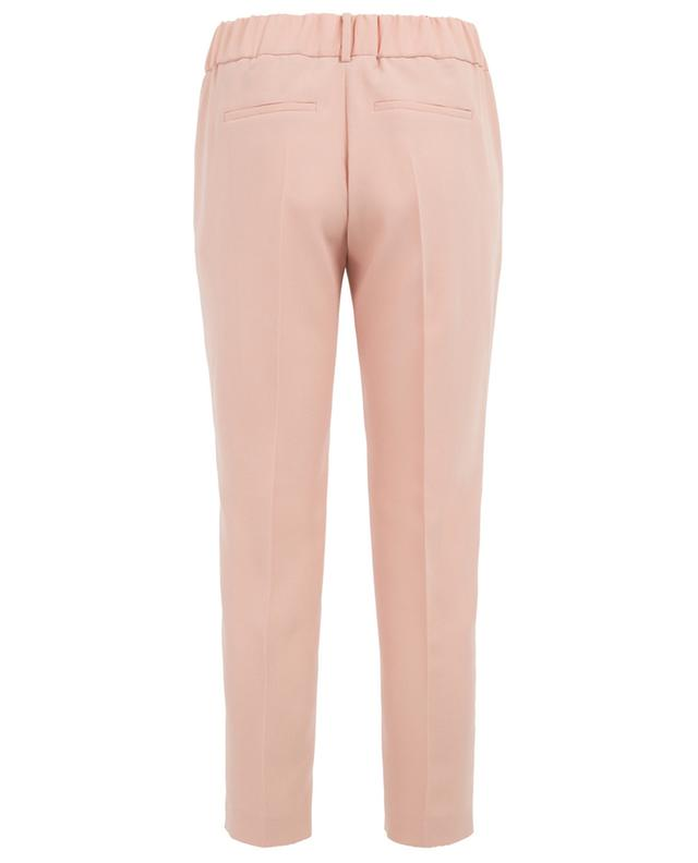Cropped crêpe trousers SLY 010