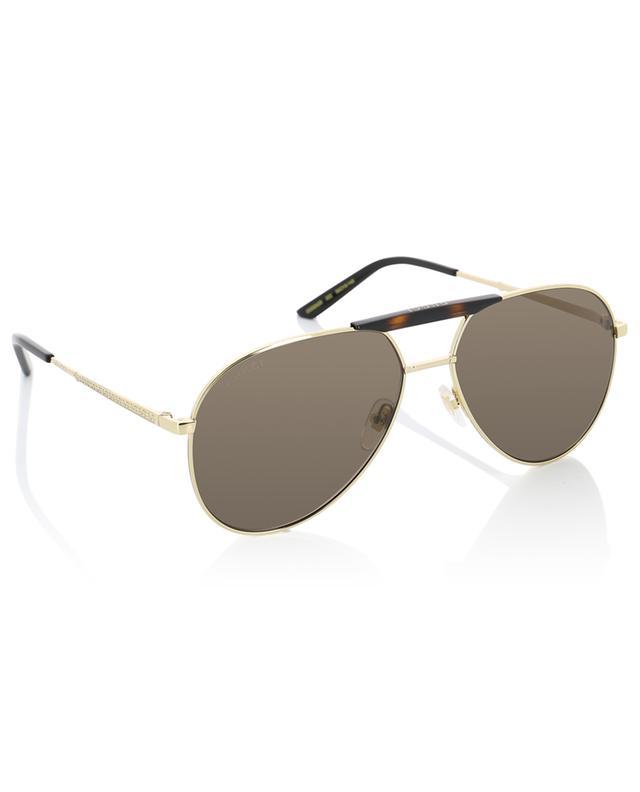 Sonnenbrille im Fliegerstil GUCCI