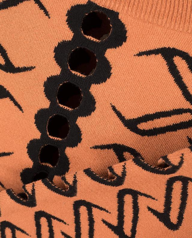 Jacquard-Pullover mit Ausschnitten Desert TEMPERLEY LONDON