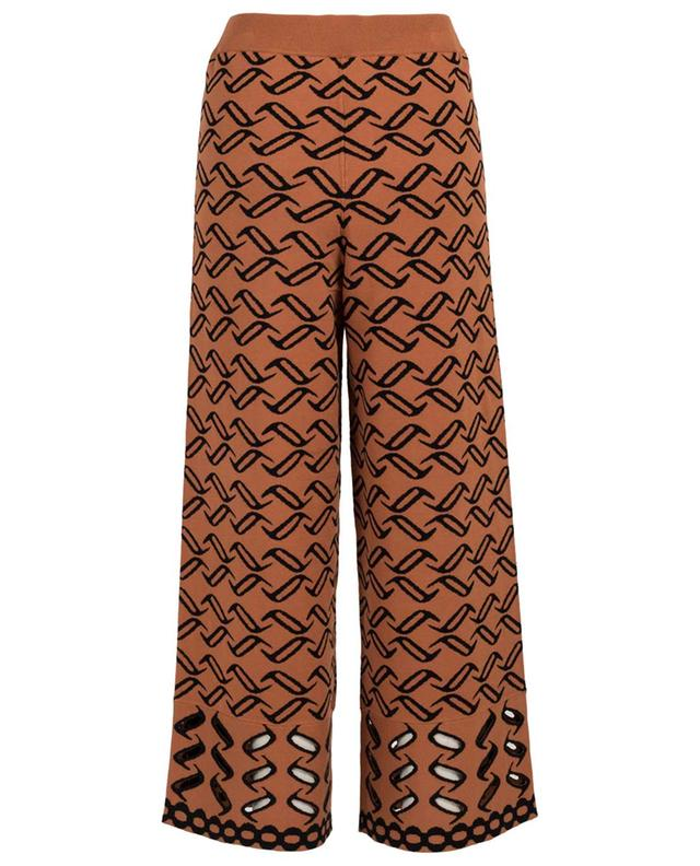 Desert wide-leg knit trousers TEMPERLEY LONDON