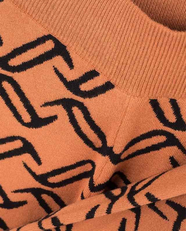Pantalon tricot large Desert TEMPERLEY LONDON
