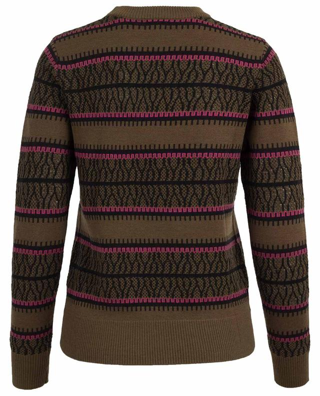 Jacquard-Pullover aus Wolle Ida TEMPERLEY LONDON