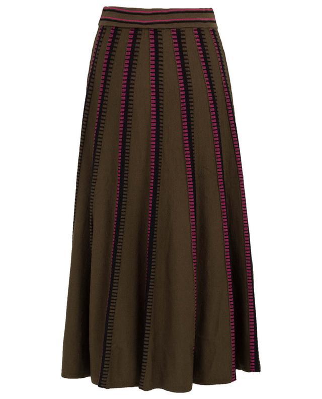Ida jacquard skirt TEMPERLEY LONDON