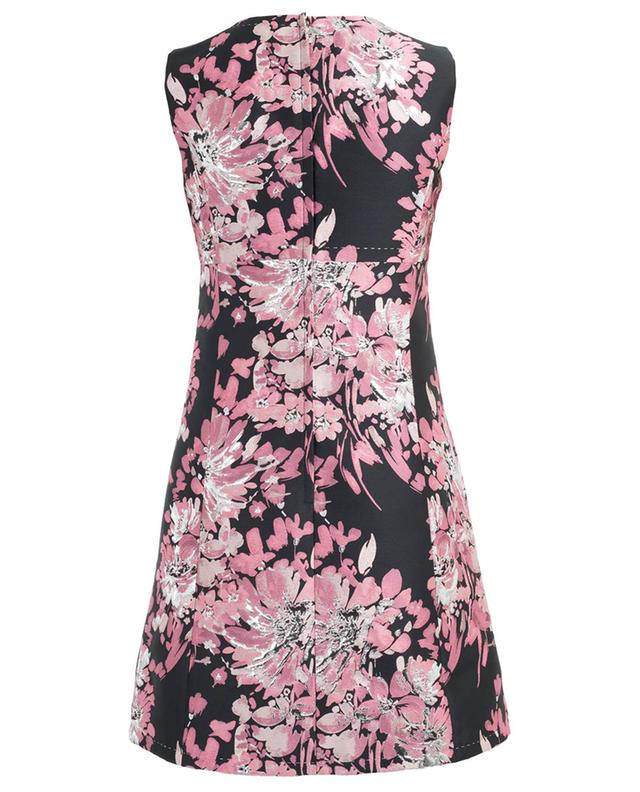 Floral jacquard short dress DOLCE & GABBANA