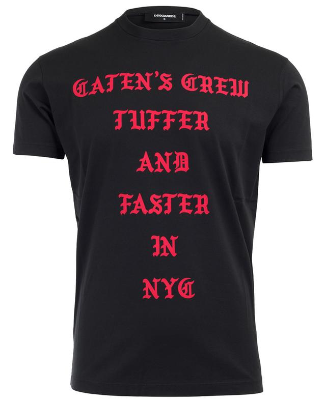Caten's Crew cotton T-shirt DSQUARED2