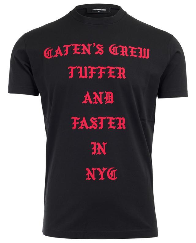 T-Shirt aus Baumwolle Caten's Crew DSQUARED2
