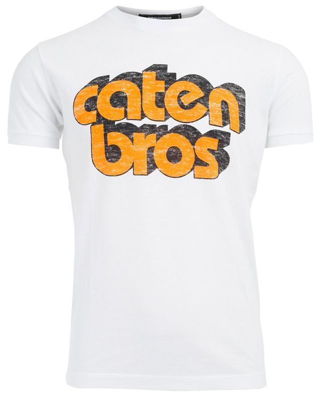 T-shirt en coton Caten Bros DSQUARED2