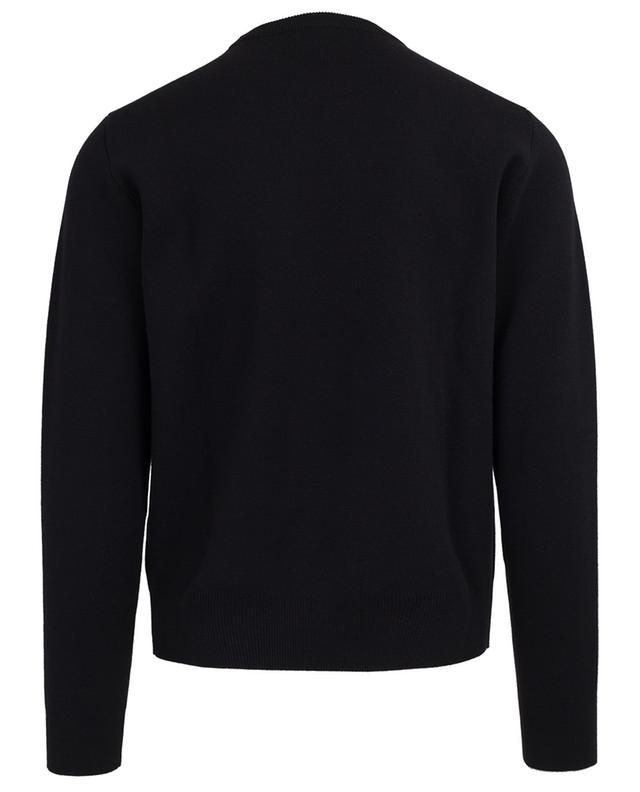 The Catens embroidered wool jumper DSQUARED2
