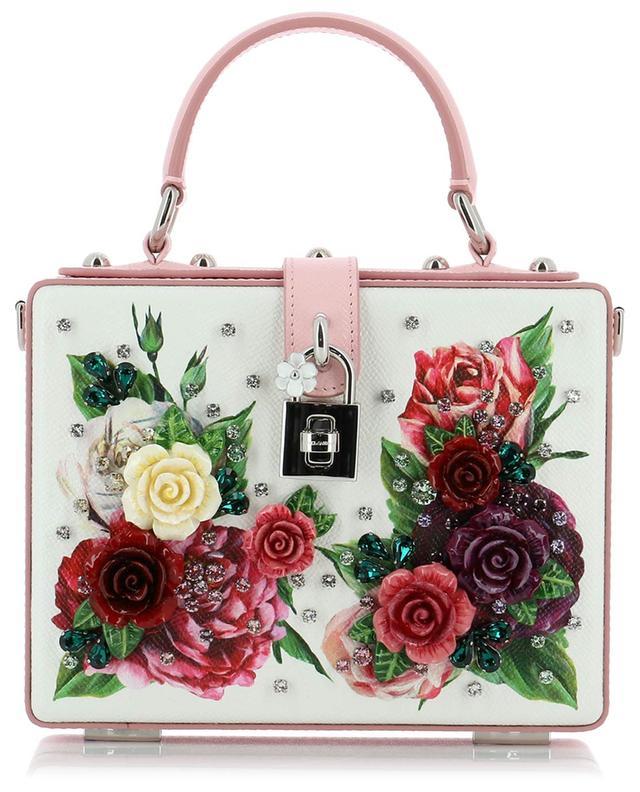 e43acced9820 DOLCE   GABBANA Dolce Box textured leather handbag - Bongénie ...