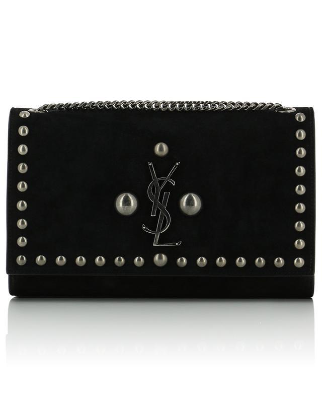 e18ff6a4161 SAINT LAURENT PARIS Monogramme SL leather shoulder bag - Bongénie ...