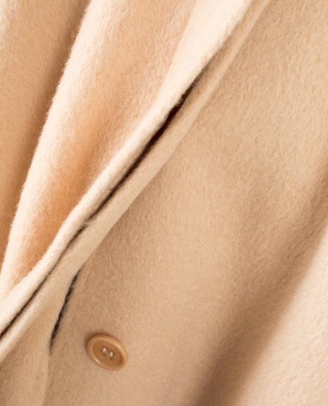 Langer Mantel aus Mohair- und Schurwollmix RED VALENTINO