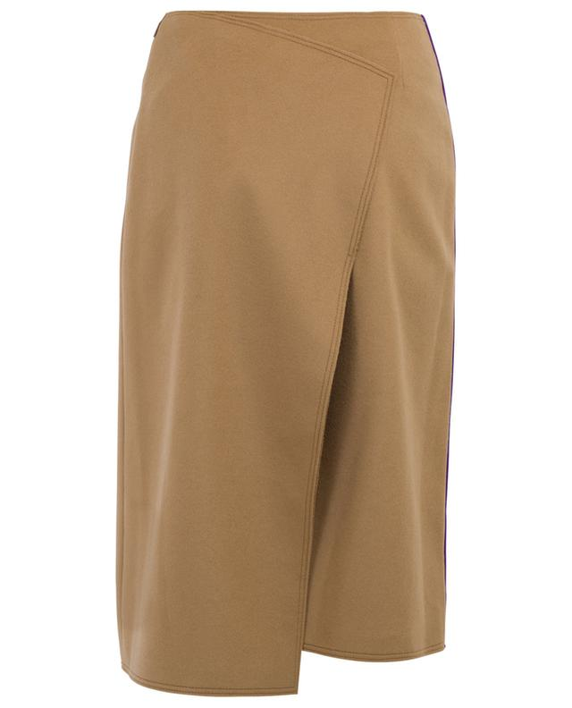 Page knee-length wool and cashmere skirt JOSEPH
