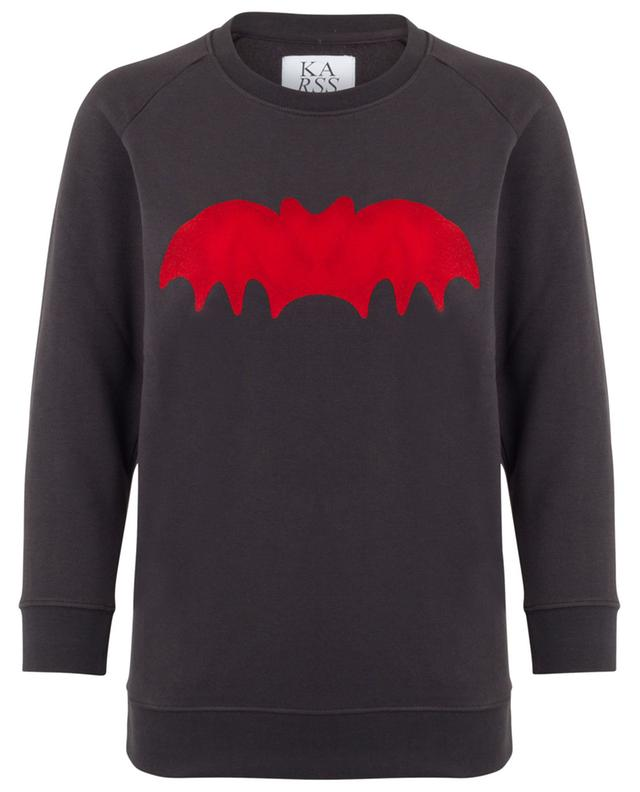 Sweatshirt aus Baumwollmix ZOE KARSSEN