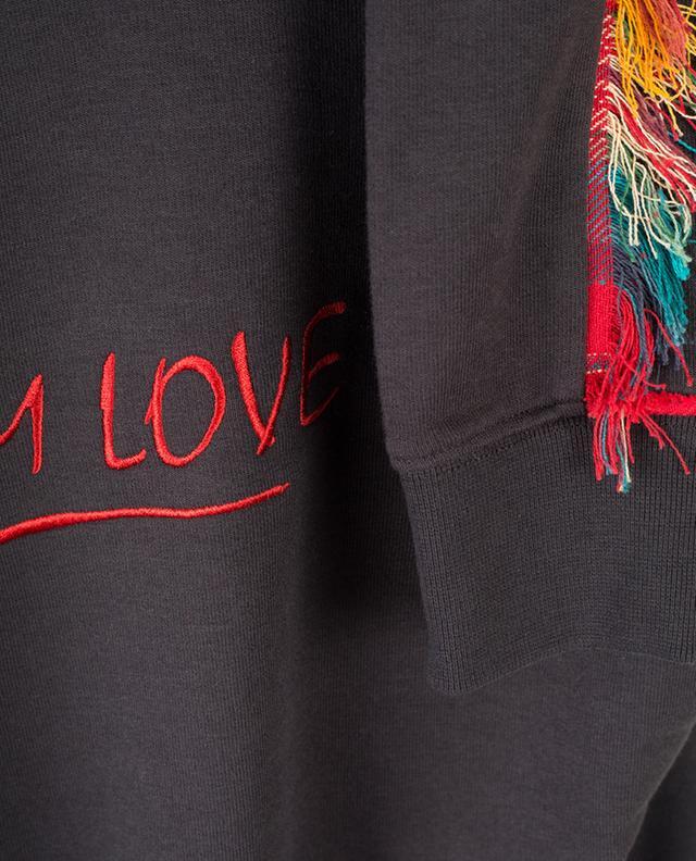 I Am Love cotton blend sweatshirt ZOE KARSSEN