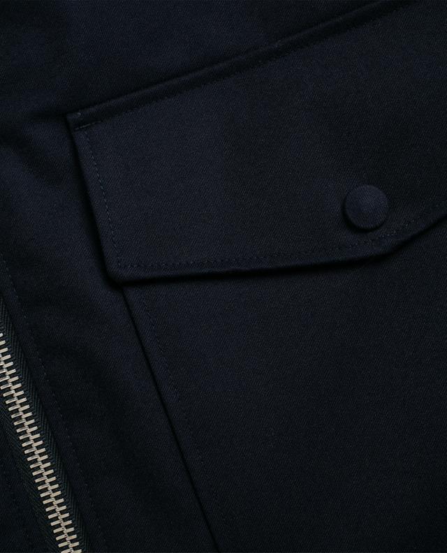 Jacke aus wasserabweisender Wolle Patrick OFFICINE GENERALE
