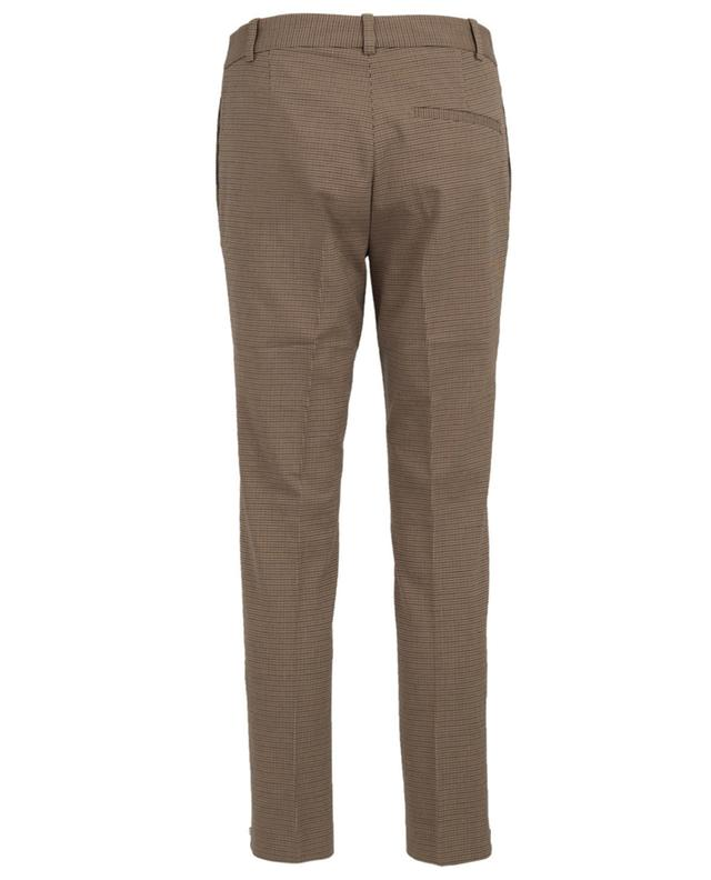 Tapered leg cotton and wool blend trousers JOSEPH