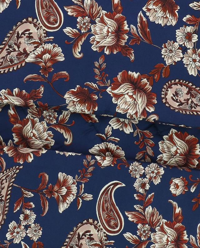 Écharpe matelassée en soie Floral Chain 3.1 PHILIPP LIM
