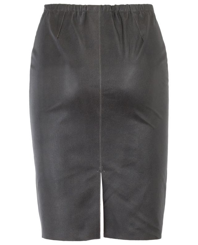 Brizana short stretch leather skirt MAX ET MOI