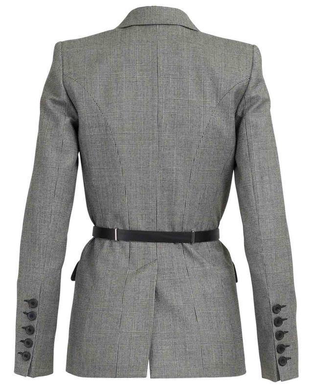 Checked wool jacket BARBARA BUI