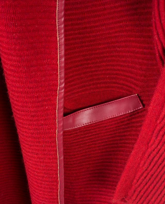 Reveillon merino and cashmere cardigan MAX ET MOI