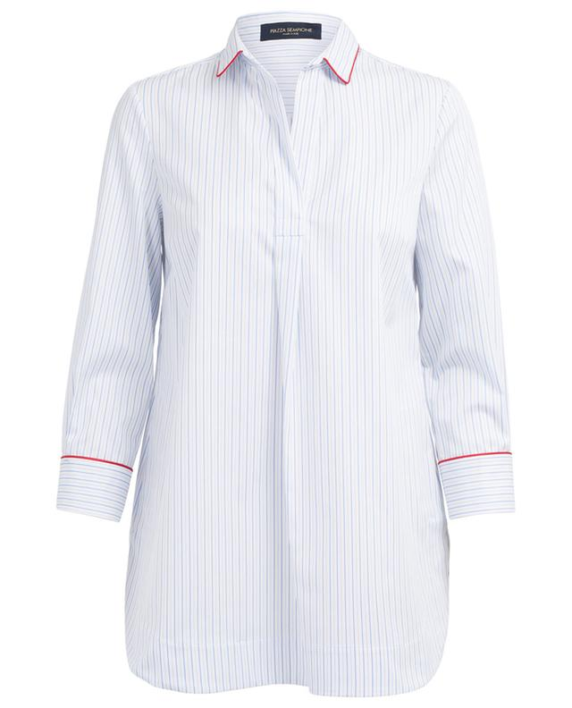 Striped cotton blouse PIAZZA SEMPIONE