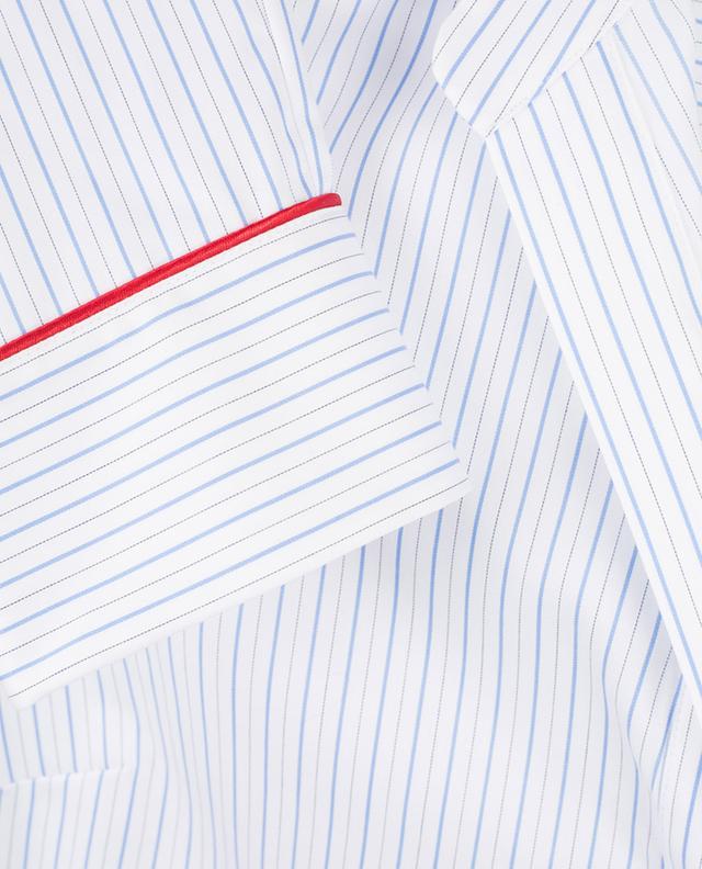Striped cotton blouse PIAZZA SEMPIONE
