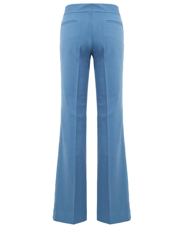 Cotton blend wide leg trousers PIAZZA SEMPIONE