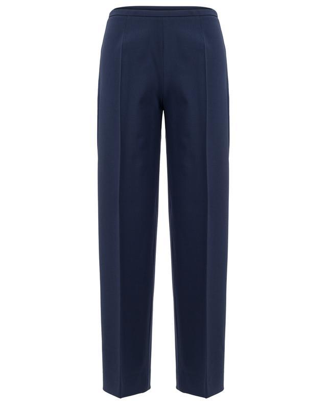 Virgin wool blend wide leg trousers PIAZZA SEMPIONE
