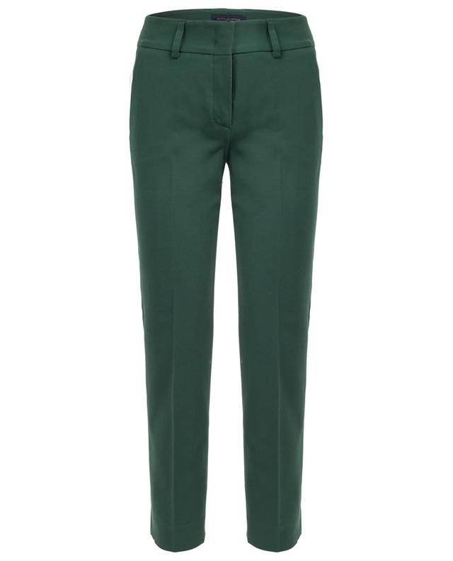 Pantalon droit en coton mélangé PIAZZA SEMPIONE
