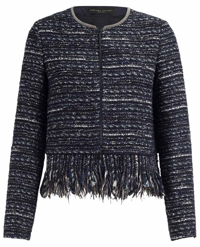 Lightweight tweed jacket FABIANA FILIPPI