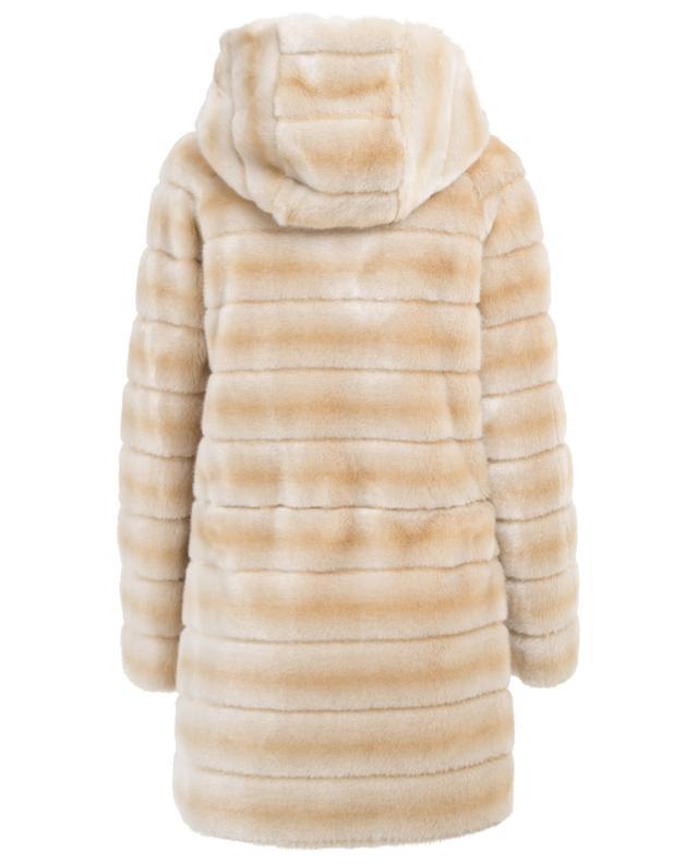 Oh my deer faux fur coat / FAZ / NOT FUR