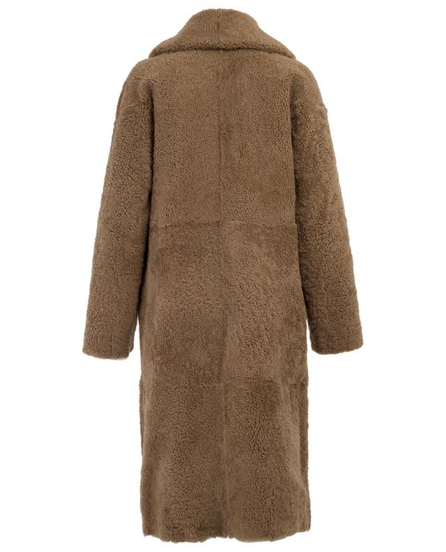 Medea reversible shearling coat NOVE LEDER