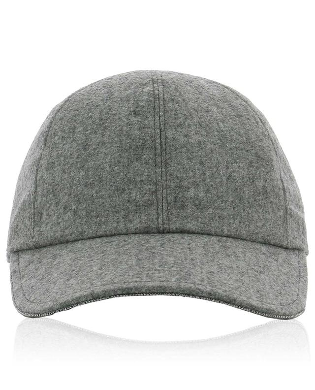 Wool and cashmere baseball cap FABIANA FILIPPI