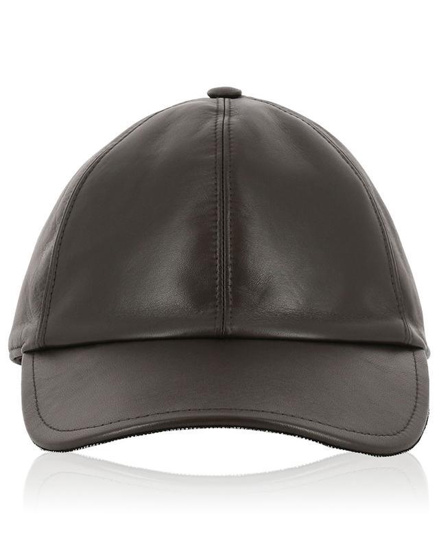 Leather baseball cap FABIANA FILIPPI