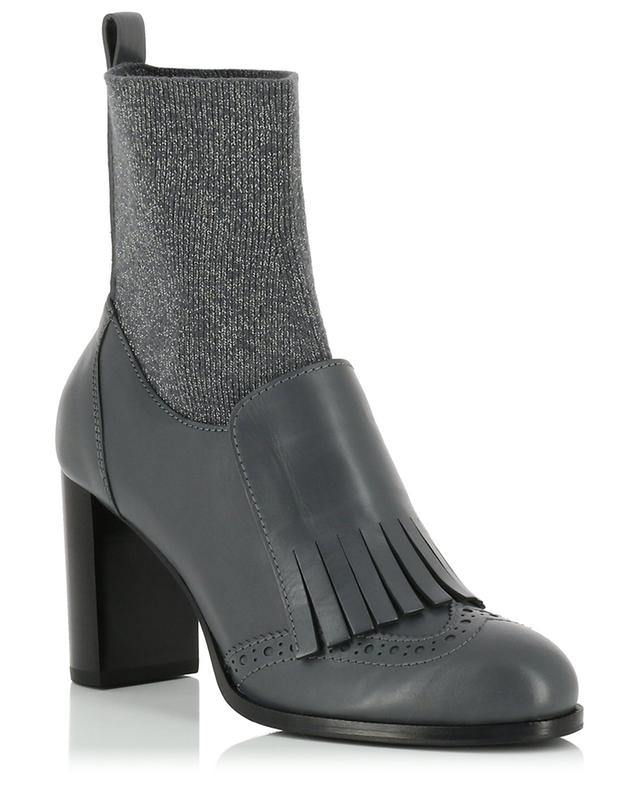 Serana leather and fabric ankle boots FABIANA FILIPPI