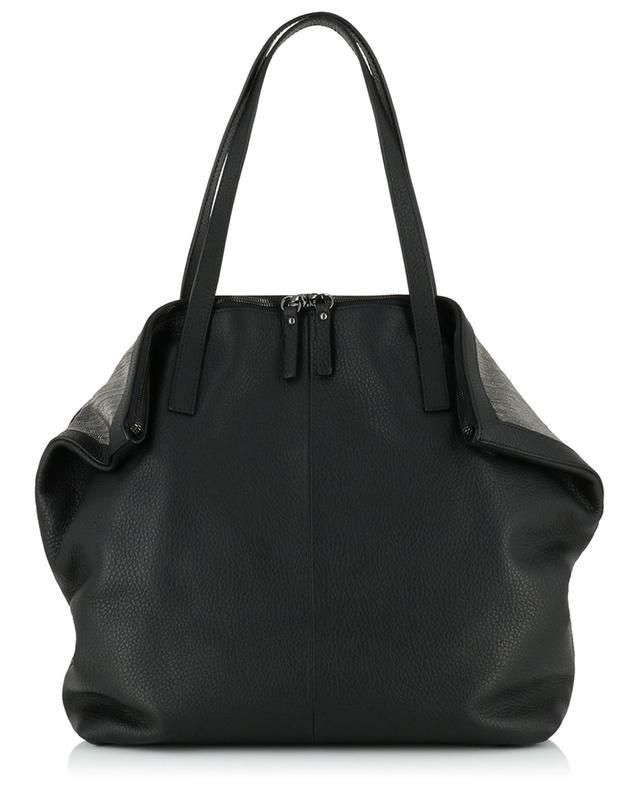 Greta grained leather tote bag FABIANA FILIPPI